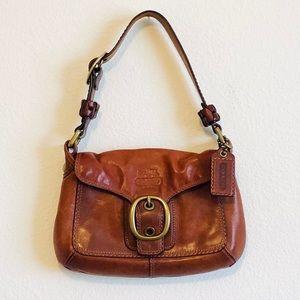 Authentic COACH- Cognac Leather Bag